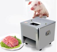 Elektrische Fleischschneidemaschine Gewerbliche Fleischschneidemaschine Edelstahl Elektrische manuelle Fleischschneidemaschine