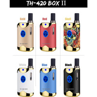 100% Original Kangvape TH-420 II Starterkit 650mAh VV TH420 2 Batteriekasten Mod. 0,5 ml 92a3 Dicköltank Authentisch