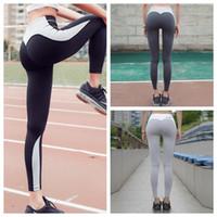 Femmes Nice Leggings de haute qualité Pantalons de yoga de sport mince Fitness Course à la maternité Pantalons Legging Tight Sportwear GGA130 10PCS