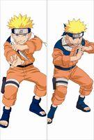 Dekoratif Anime Naruto Dakimakura Hugs Yastık Kılıfı Sarılmak Yastık Örtüsü Karakterler Uzumaki Naruto Uzun Sarılma Vücut Yastık