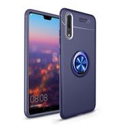 Bague magnétique Stand Cas de téléphone pour Huawei P20 Pro Lite P10 Nova 3i Honor Jouer 8x Note 10 P9 Coque complète