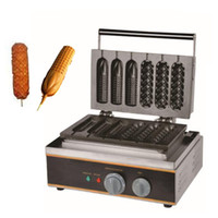 BEIJAMEI 110V 220V Коммерческая булочка Горячая машина собака / Электрический чайник палочке Вафли / Вафли машина Hot Dog