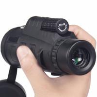 Di alta Qualità 35x50 Teleskop Monoculari Power Binoculars Telescopio Ottico Monoculo Spyglass Monocle Caccia Camp di Viaggio Spedizione Gratuita