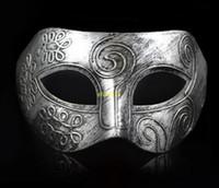 (3000 peças / lote) new retro romano cavaleiro romano máscara homens e máscaras máscaras máscaras das mulheres do partido favores dress up