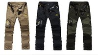 Summer Quick Dry Removable Pants 5XL Mens Outdoor Brand Clot...