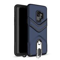 Kickstand Phone Case con colgante Ring Hybrid Armour contraportada para LG Aristo 2 ZTE Z982 Samsung J7 2017 J3 2017 Oppbag