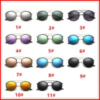 3647 Brand sunglasses men women fashion sun glasses Retro gl...