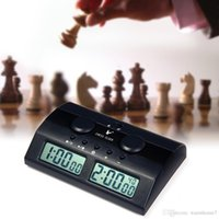 Digital Triad Chess Clock Count Timer per la concorrenza del gioco Professional Compact Digital Chess Clock Count Up Down B