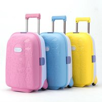 high quality Cute Cartoon Children Rolling Luggage Suitcase ...