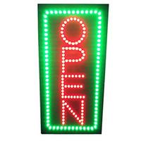 Letrero de neón vertical de 19 pulgadas de altura con LED de alta resolución y 2 modos de luz para Bar Tattoo Salon Store Beauty Spa Business110V-220v