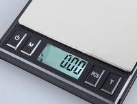 100pcs التي الجملة جيب الإلكترونية CD على نطاق والمجوهرات مختبر المدرسة المطبخ الالكترونية وزنها 0.01 / 100G 200G 500G المقاييس الرقمية