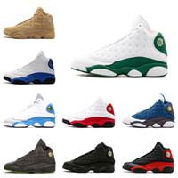 13 13s Nuove scarpe da basket da uomo 13s Ray Allen Chicago Playoffs Pure Money Love Respect white 13 scarpe da ginnastica sneaker uomo scarpe sportive taglia 8-13