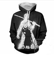 Neue Mode Paare Männer Frauen Unisex HD One Piece 3D Print Hoodies Pullover Sweatshirt Jacke Pullover Top L0M039