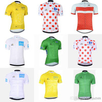 TOUR DE FRANCE team Cycling Short Sleeves jersey professiona...