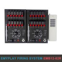 24 señales remotas Fireworks Wireless Fireing SystemPyrotechnic FiringsYstemSealSalvo Firestep Fire Igniter / E-Match