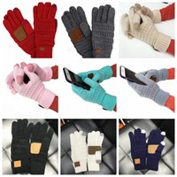 Knit Gloves knitted Touch Screen glove Winter outdoor knitti...