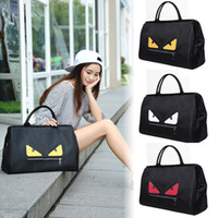 Gran capacidad de Little Monster Designer bolsos 2018 New Fashion Men Women Bolsa de viaje Duffle Bag Casual bolsos de lujo Sport Bag