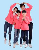 Hombres Mujeres Niños Rosas Estampado floral Chaquetas Ropa familiar Tops Ropa de abrigo Abrigos finos Chaquetas Active Casual Slim Windbreaker Plus Size