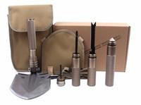 حار المهنية التكتيكية متعددة الوظائف مجرفة المحمولة التخييم بقاء الطي المجرف أداة المعدات اللازمة LF022
