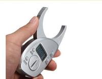 شاشات الكريستال السائل الرقمية الدهون في الجسم الفرجار الجلد أضعاف محلل FAT قياس السماكة اختبار آلة التخسيس