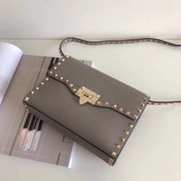 2017 New Fashion Handbag Golden rivet Bags Handle Desiigner ...
