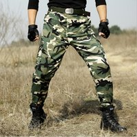 Tactical Pants  Camouflage Hunter SWAT Trousers Army Combat CS Pants Men Tactico Camo Militar Clothing Pantalon Homme