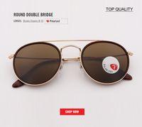 2018 moda clássico hd vidro polarizada 3647 uv400 óculos de sol dos homens  fresco condução rodada 4172865034