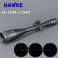 HAWKE 5- 20x50 AOIR Hunting Scopes RGB Illuminated Optic Sigh...