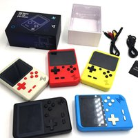 Portátil Handheld Video Game Console Retro Mini Game Players 400 jogos 3 em 1 AV Pocket jogos Gameboy Color LCD