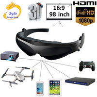 New HD922 FPV 3D video glasses 2 meters distance 98 inches v...