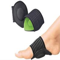 2 adet / çift strutz ayak yastıklı kemer desteği şok emici ayak düz plantar topuk ayakları yastıklı