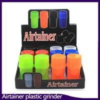 Najnowszy AirTainer 2 w 1 zioło szlifierki zioło zioła tytoniu magazynowy akrylowy styl butelki pięć kolor 0266214