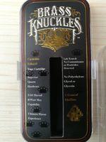 Pirinç Knuckles 1.0 ml Kartuşları Klon Seramik Bobinleri Altın Pyrex Cam Tankı 510 Konu Tomurcuk Dokunmatik Kalın Yağ Atomizer ile Plastik Kutu DHL