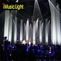 207 بوصة × 105 بوصة أحداث خلفية LED الستار المضاء الستار القماش الأسود + المصابيح البيضاء لحفل زفاف الديكور مع شريط ، ديسكو ، فندق الخ