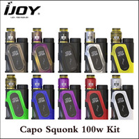 Authentic Ijoy Capo Squonker 100W Kit with 3000mAh capacity ...