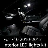 Shinman 19pcs خالية من الأخطاء LED الداخلية الخفيفة كيت لسيارات BMW 5 سلسلة F10 528i 535d 535i 550i 2010-2015