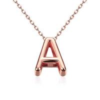 Бесплатная доставка лучшие друзья австрийский хрусталь ожерелье мужчины письмо многослойные ожерелья oso KNWN016