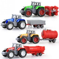Toy Tractor Alloy Engineering Car Agricultural Vehicle Model...