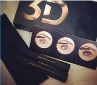 2019 New Arrival 1030 version 3D Fiber Lashes Waterproof Double Mascara 3D FIBER LASHES Set Makeup Eyelash