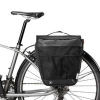 Sahoo 142.004 Fonksiyonlu Bisiklet Çantaları Bisiklet Pannier Su geçirmez Bisiklet Çantaları Taşıma Çantası Bisiklet panniers Gövde Paketi Raf