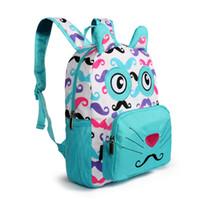 Advocator Cartoon Animal Baby Mini Cute Backpack For Girl Kids Cotton Embossing Beard Packs Toddler Kindergarten School Bag