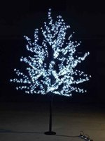1. 5M 1. 8m 2m Shiny LED Cherry Blossom Christmas Tree Lightin...