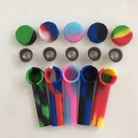 Silicone SMO King Pijp Mini Water Acryl Hookah Bong Multi Colors Draagbare Shisha Hand Pipes