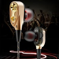 Fonge R6 Sport Wired Earphone High bass dual driver stereo I...