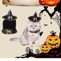 Disfraces de fiesta de Navidad de gato de Halloween Disfraces de manto mágico Vestido de traje de sombrero mágico Mascota Producto de gato de Puppey para gato de perro pequeño