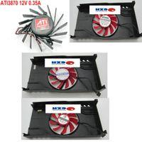 Zafiro ATI 3870 HD3690 Zhao Gainward GTX460 tarjeta gráfica del ventilador RDD8015B1 NF0815B1HK-R PLA08015S12HH