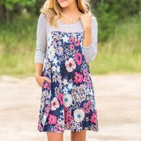 American and European floral print dresses