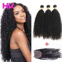 indian Virgin Hair With Closure Extensions 3 Bundles indian ...