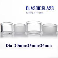 Inserir Bacia OD 20mm 25mm 26mm Para Substituir Eternal Banger Quartz Oil Dish 10mm 14mm 18mm Feminino Masculino