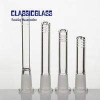 Reductor de difusor de tronco de vidrio 8 tamaños de tubo de tubo descendente de 18 mm a 14 mm con 6 cortes para bong de vidrio